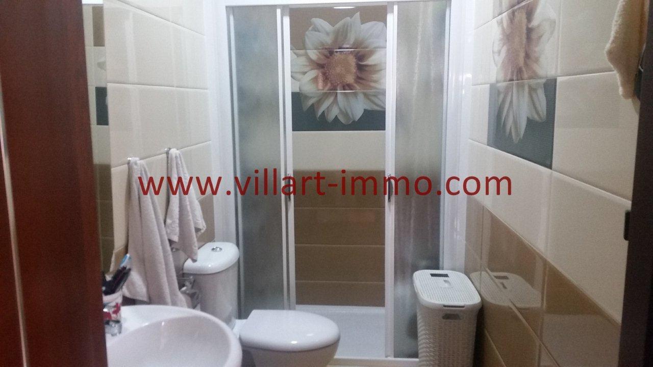 7-Vente-Appartement-Tanger-Moujahidine-Salle de bain -VA548-Villart Immo