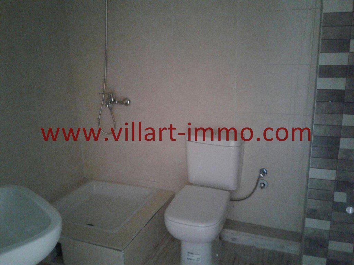 8-Vente-Appartement-Tanger-Malabata-Salle de bain 2 -VA553-Villart Immo