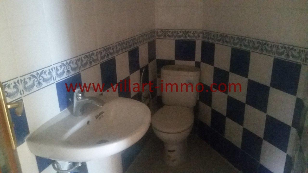 9-Vente -Appartement-Tanger-Castilla-Toilette de service-VA547