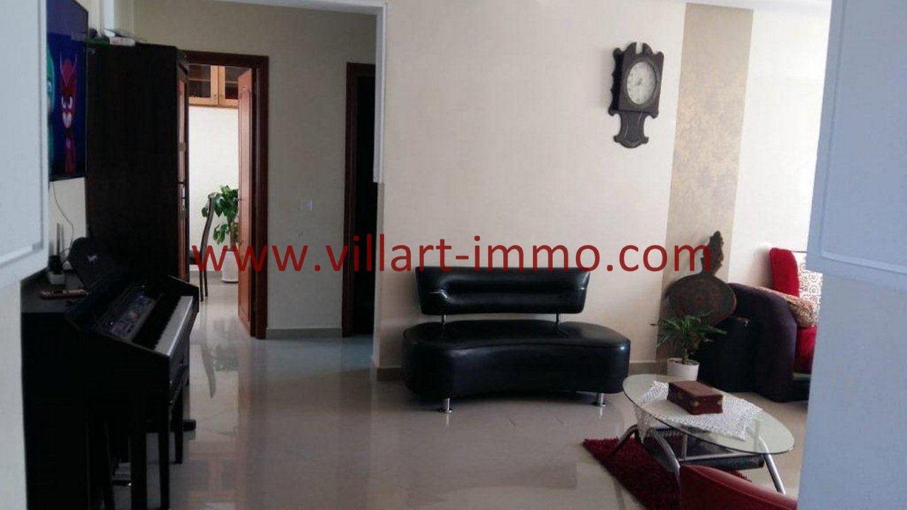2-Vente-Appartement-Tanger-Centre ville-Séjour-VA555-Villart Immo