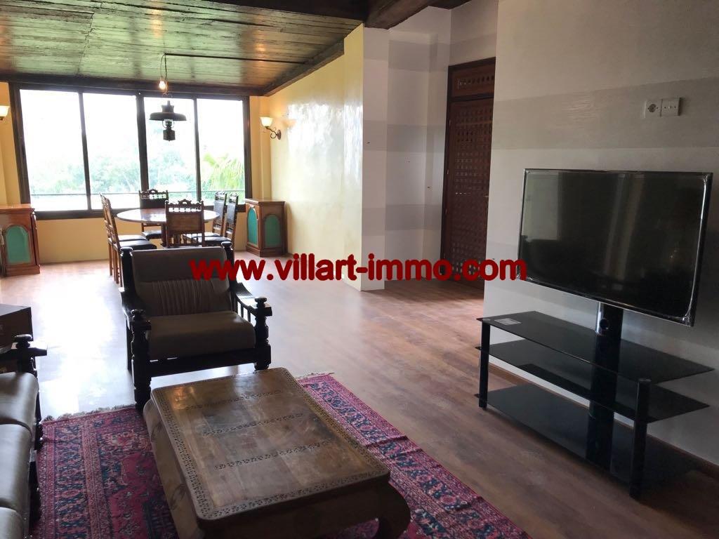 4-Location- Appartement-Meublé-Bouban-Salon-Agence immobiliere-L1099