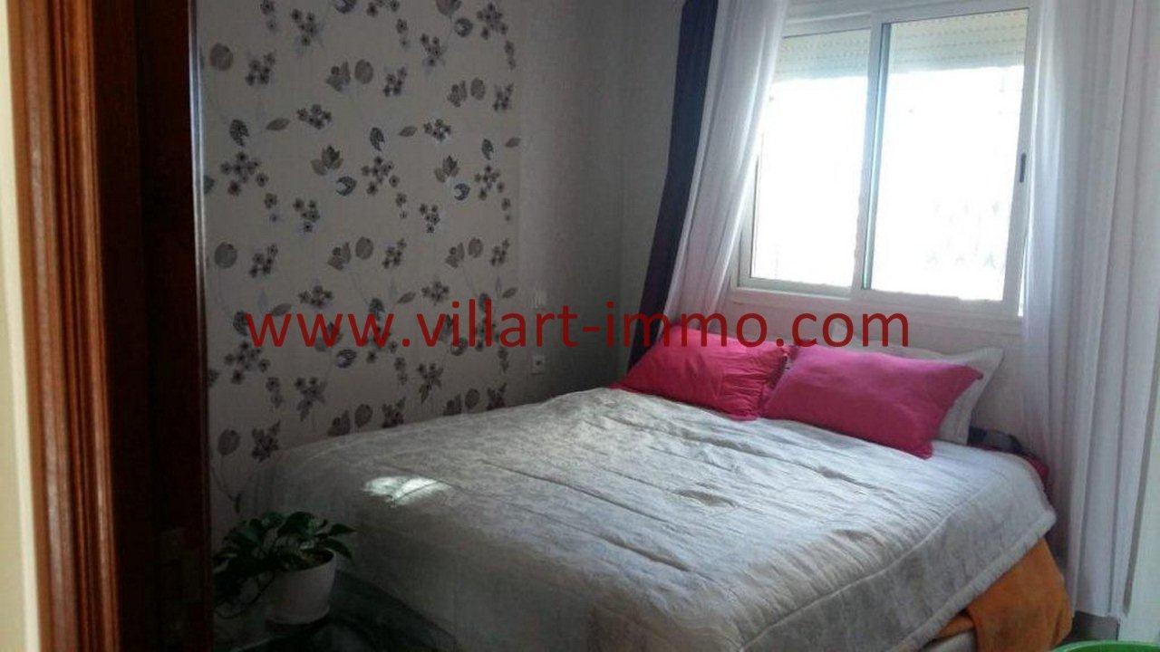 4-Vente-Appartement-Tanger-Centre ville-Chambre à Coucher-VA555-Villart Immo