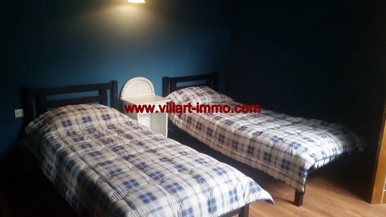 7-Location- Appartement-Meublé-Bouban-Chambre à coucher 2-Agence immobiliere-L1099