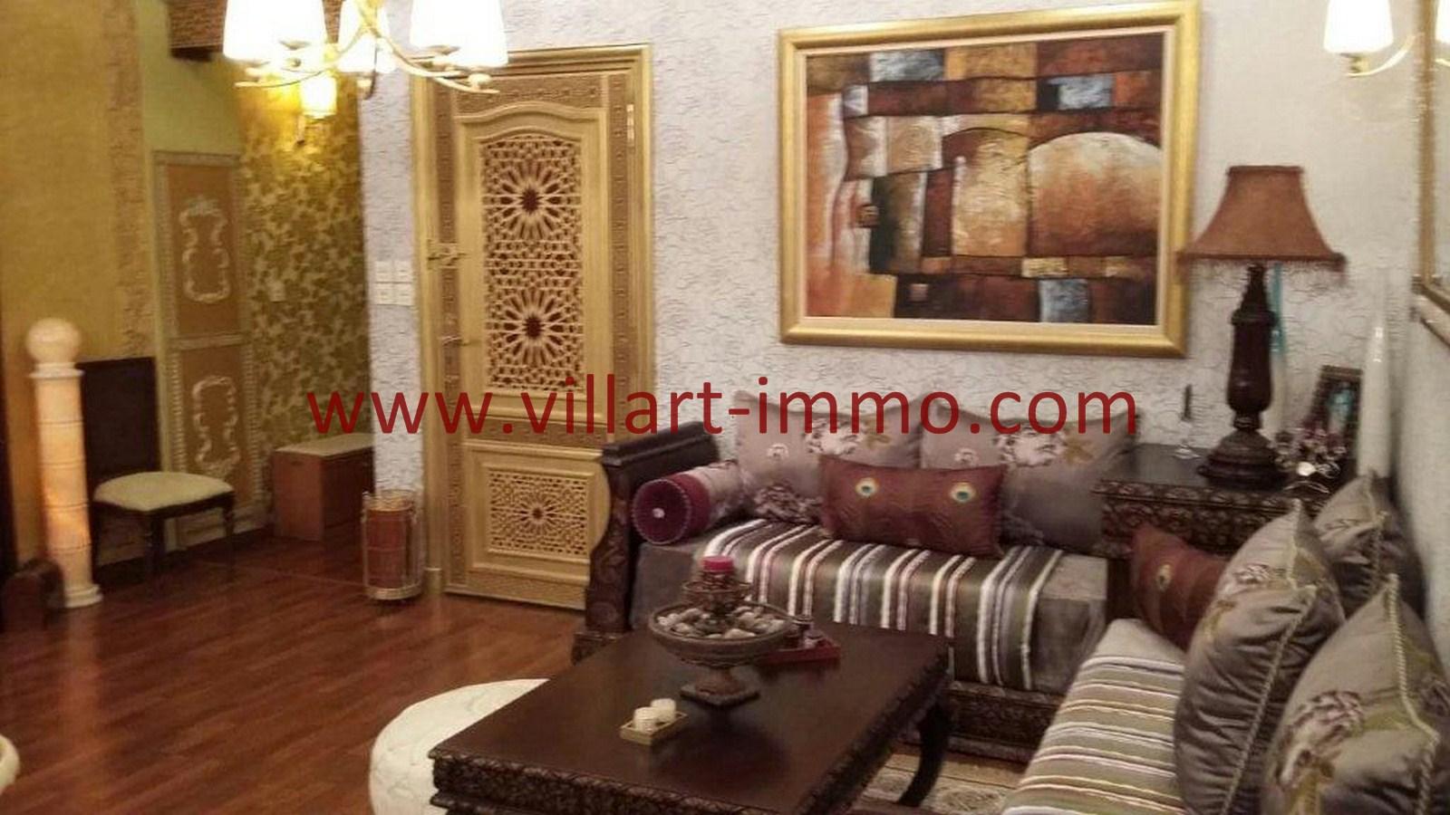 3-Vente-Appartement-Tanger-Entrée-VA560-Villart Immo