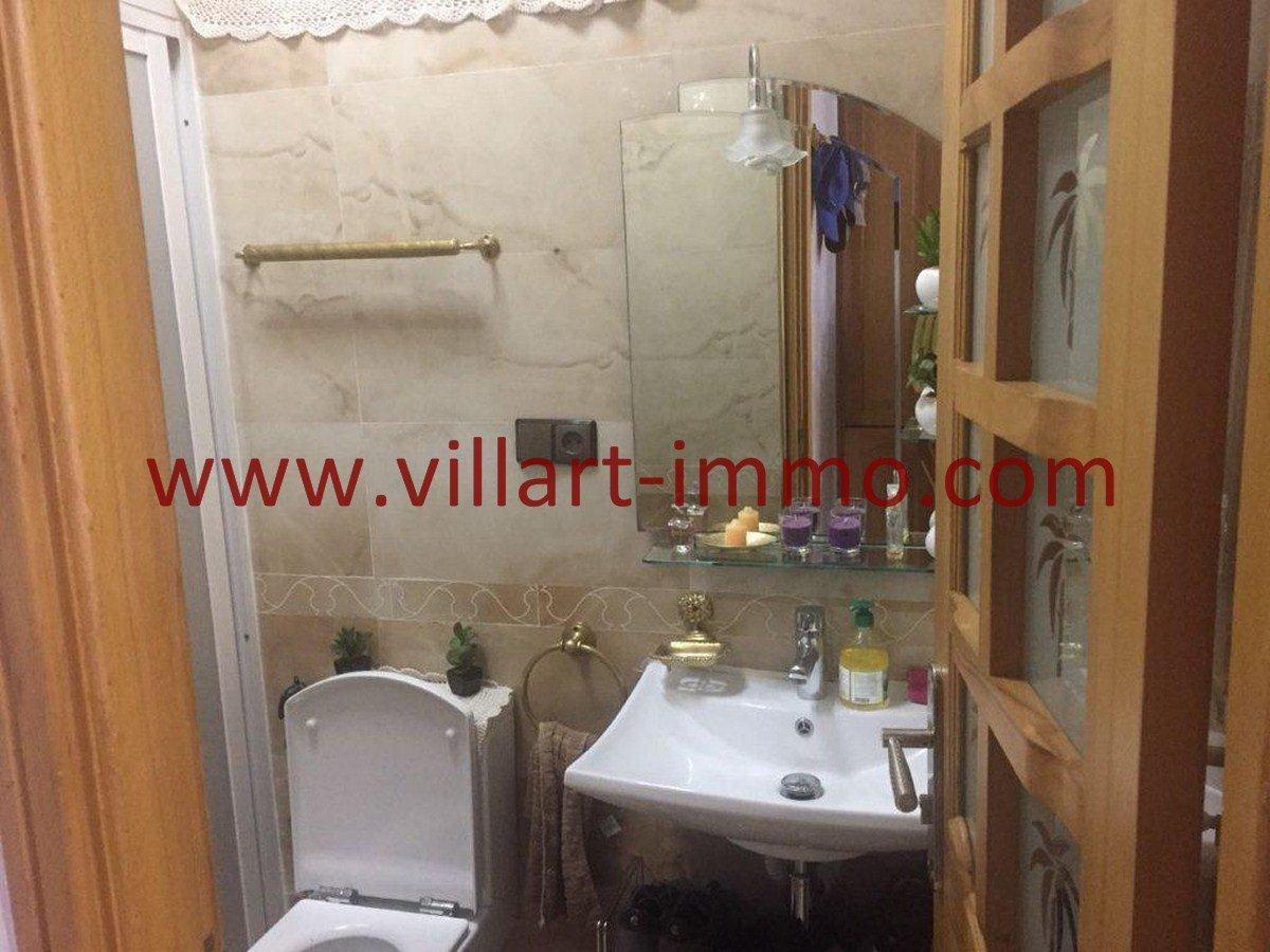 4-Vente-Appartement-Tanger-Centre ville-Salle de bain 1 -VA556-Villart Immo