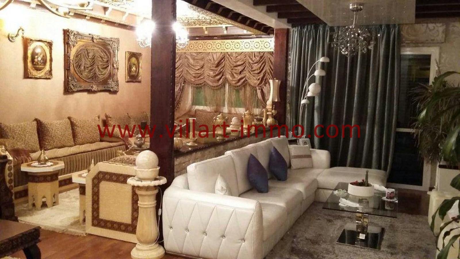4-Vente-Appartement-Tanger- Sejour-VA560-Villart Immo