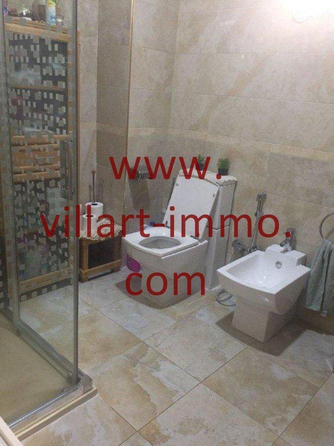 5-Vente-Appartement-Tanger-Centre ville-Salle de bain 2 -VA556-Villart Immo