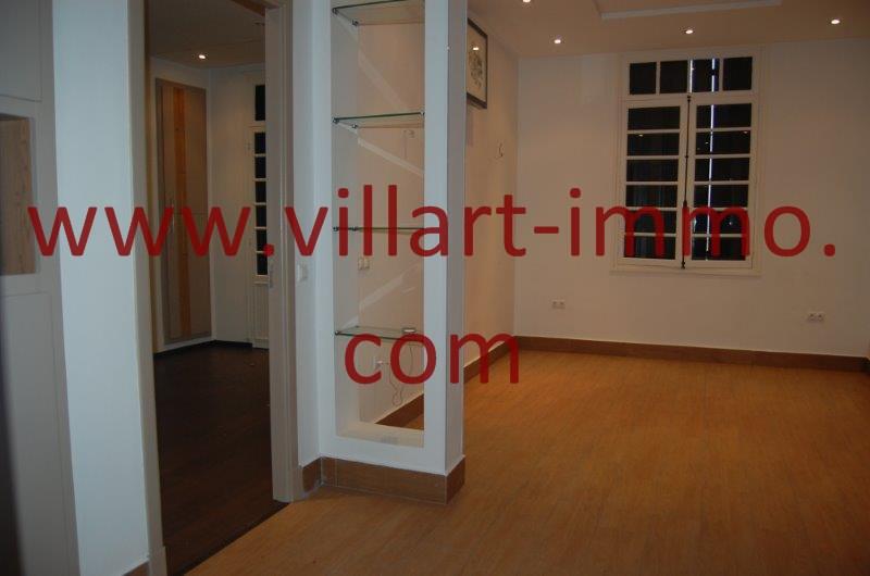 6-A louer-Appart-non meublé-Tanger- Coin salle à manger L1086-Villart immo- Maroc