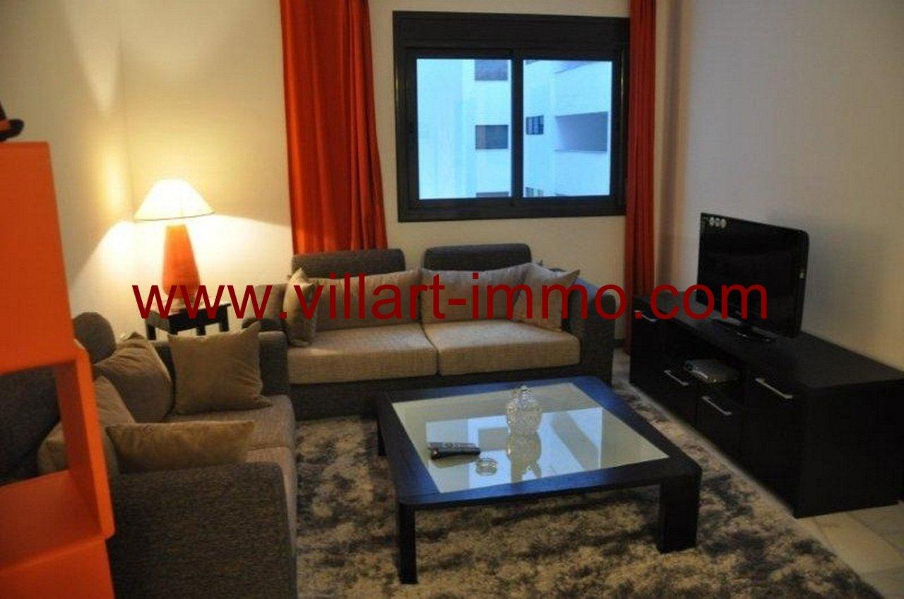1-Vente-Appartement-Tanger-Salon 1-VA563-Villart Immo