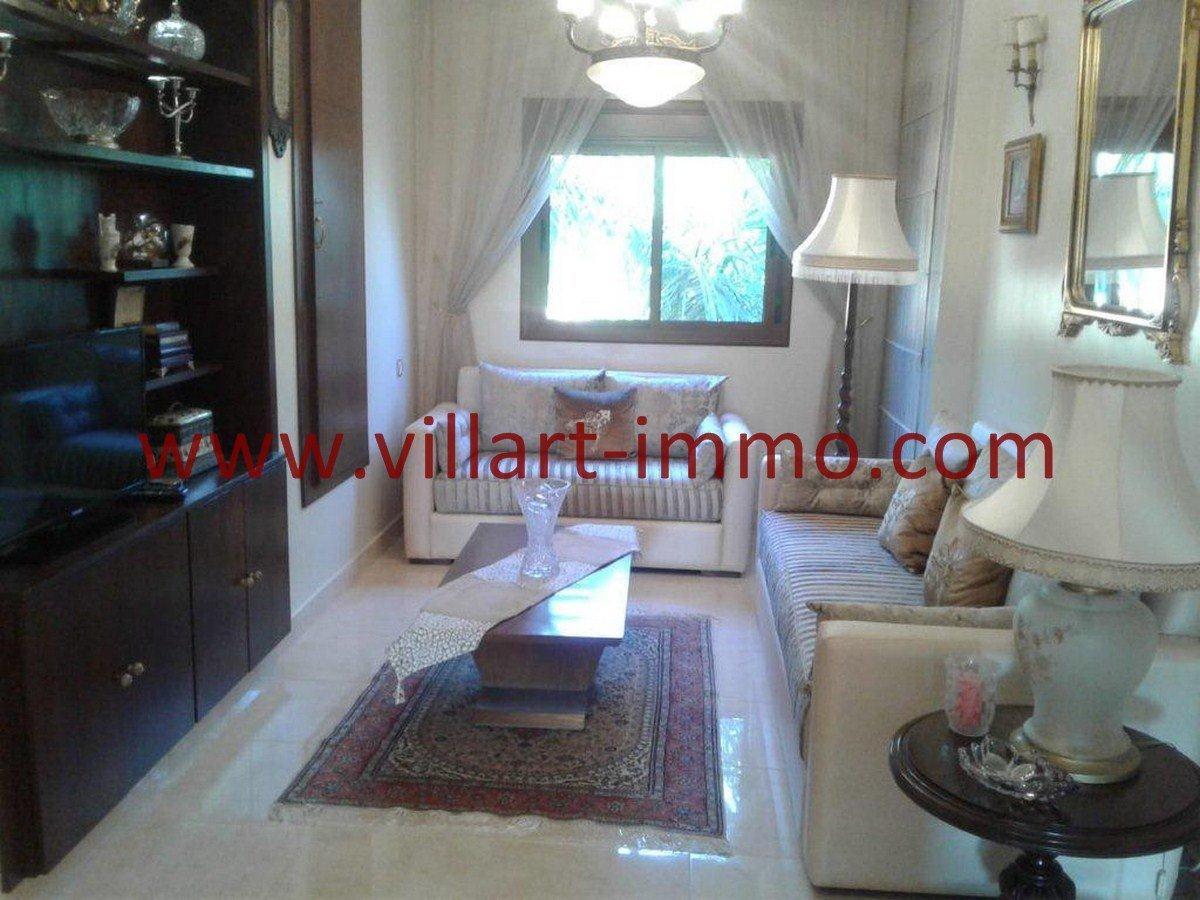 4-Vente-Appartement-Tanger-Boubana-VA564-Séjour -Villart Immo