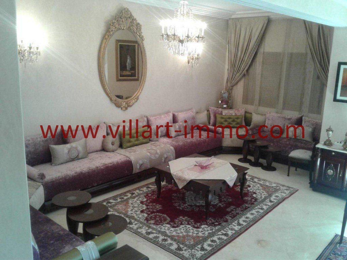 5-Vente-Appartement-Tanger-Boubana-VA564-Salon -Villart Immo