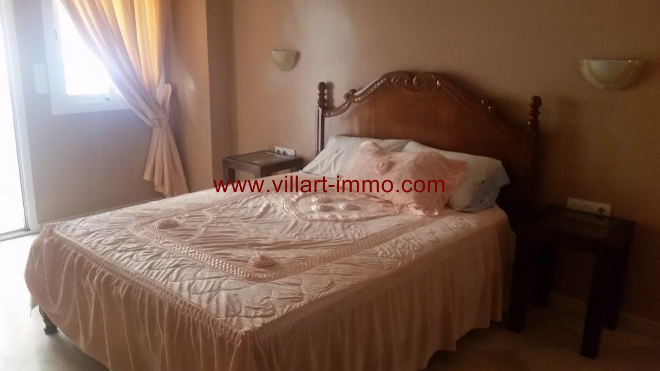 8-Location-Appartemnt-Meuble-Centre ville-Chambre 2-L1102-Agence Immobiliere