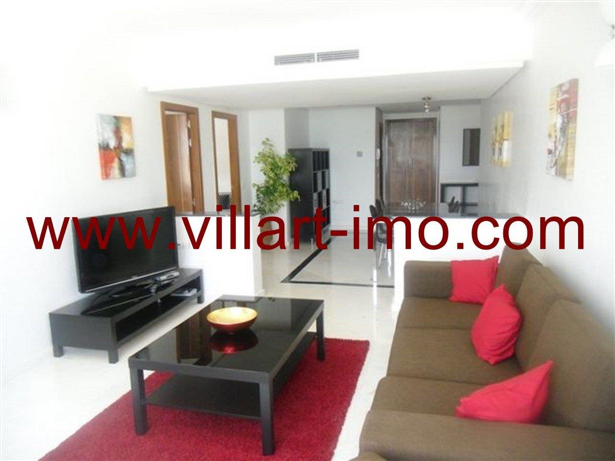 4-Vente-Appartement-Tanger-Salon-VA573-Villart Immo