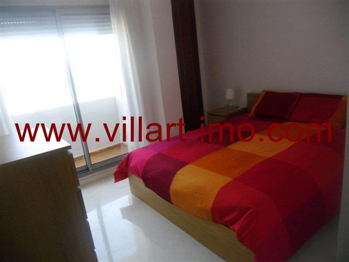 6-Vente-Appartement-Tanger-Chambre à coucher 1 -VA573-Villart Immo