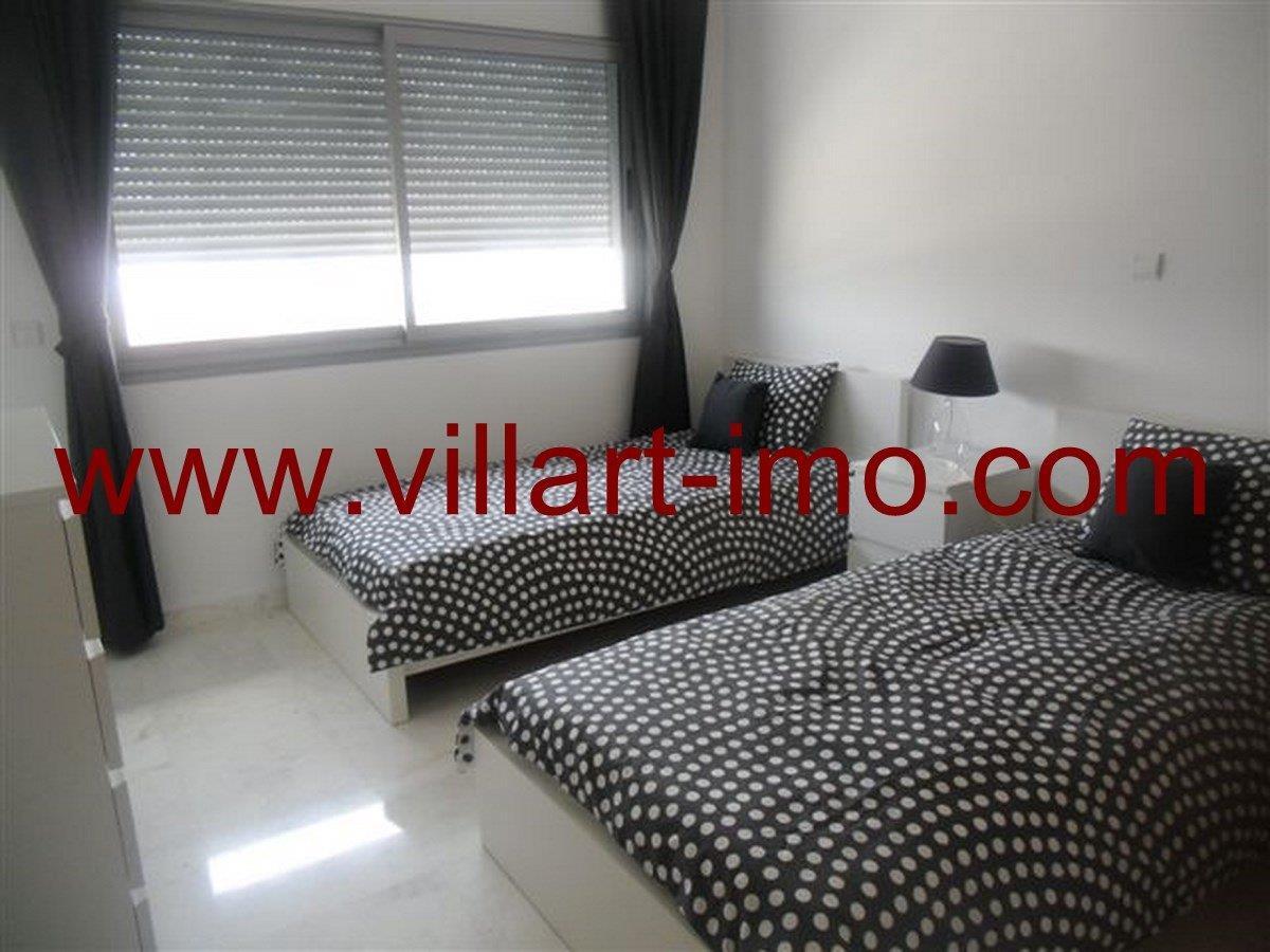 7-Vente-Appartement-Tanger-Chambre à coucher -VA573-Villart Immo