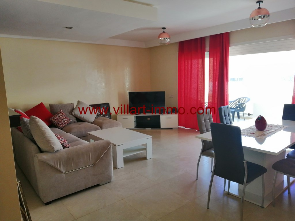 1-Location-Appartement-Meublé-Malabata-F3-Piscine-Agence immobiliere-L1111