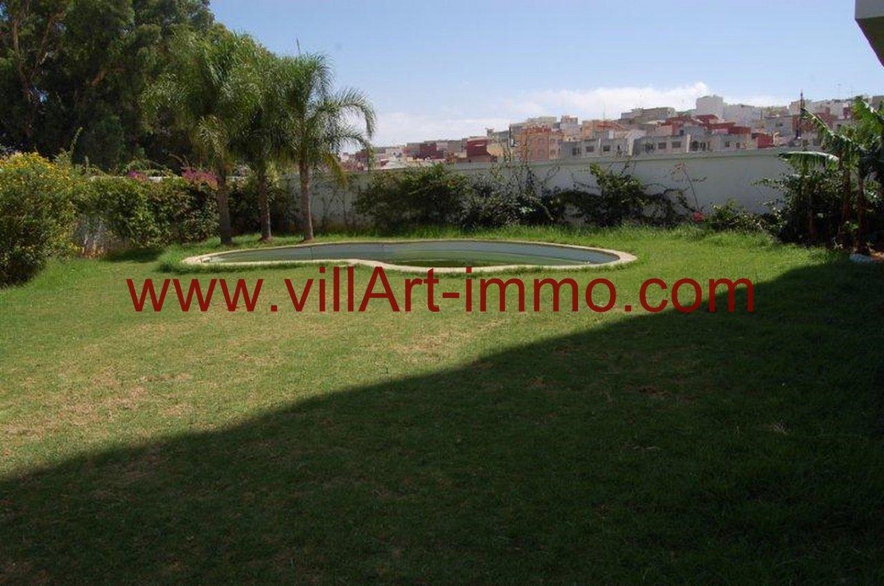 7-Vente-Appartement-Tanger-Branes-Jardin -VA574-Villart Immo