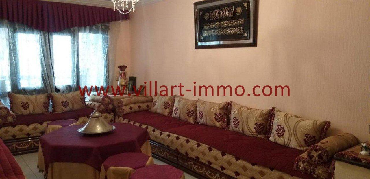 2-Vente-Appartement-Tanger-Centre-Salon-VA580-Villart Immo
