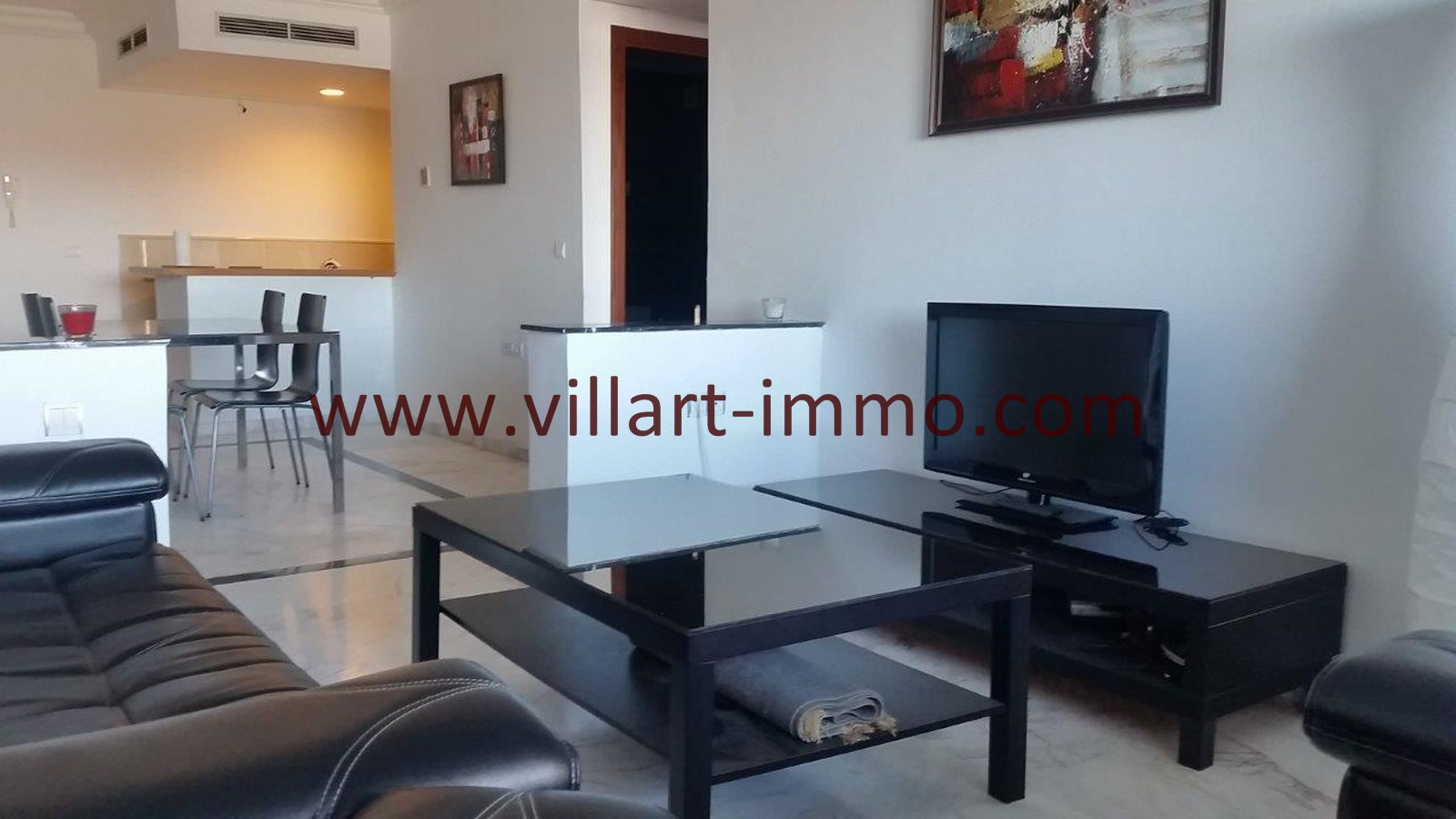 3-Vente-Appartement-Tanger-Centre-De-Ville-Salon 3-VA576-Villart Immo