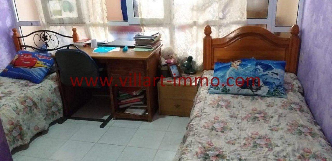 4-Vente-Appartement-Tanger-Centre-Chambre à coucher 2 -VA580-Villart Immo