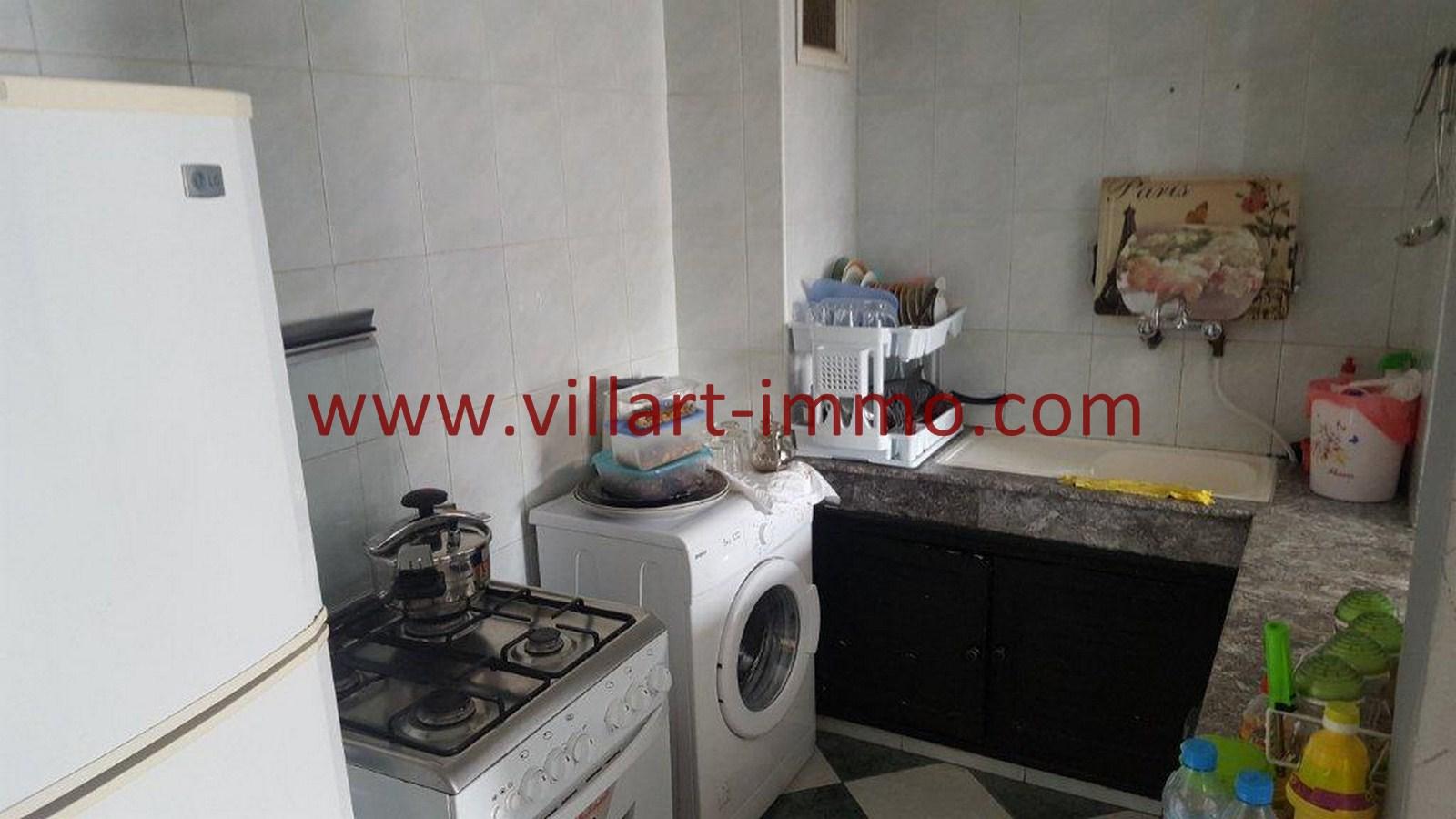 6-Vente-Appartement-Tanger-Malabata-Cuisine-VA507-Villart Immo