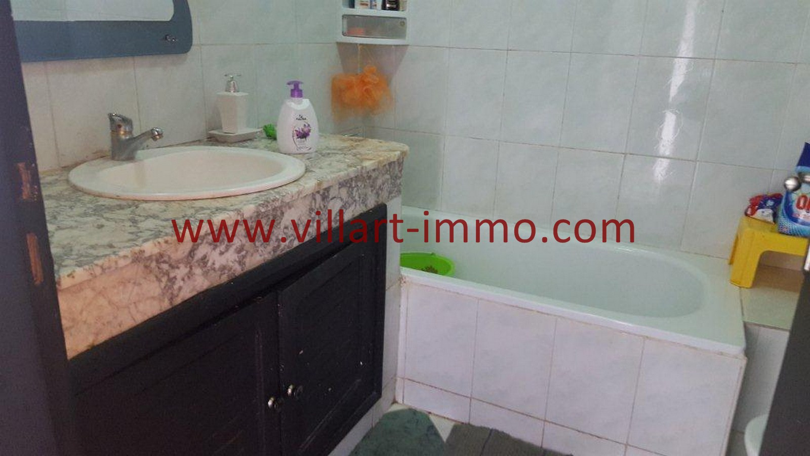7-Vente-Appartement-Tanger-Malabata-Salle de bain-VA507-Villart Immo