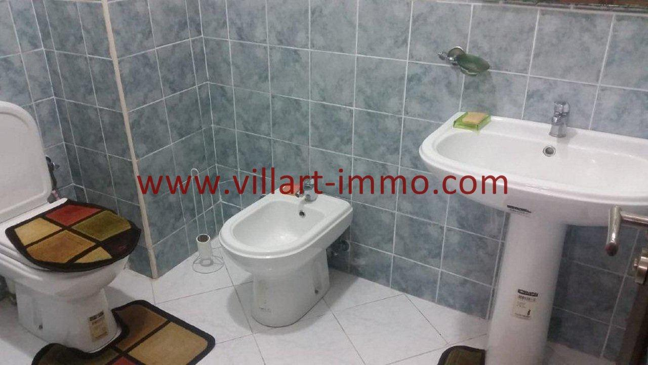 6-Vente-Appartement-Tanger-Toilette de service -VA582-Villart Immo